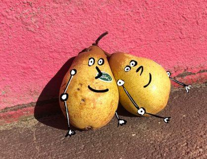 Silly pear joke