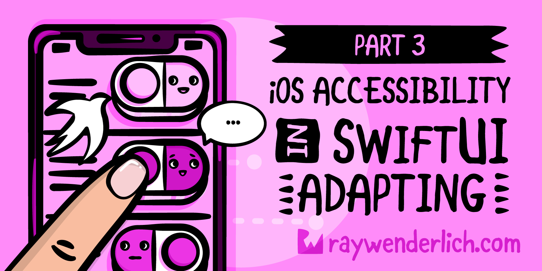 iOS Accessibility in SwiftUI Tutorial Part 3: Adapting [FREE]