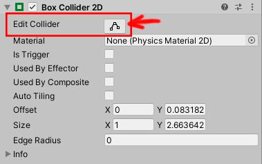 Adjusting Catto box collider