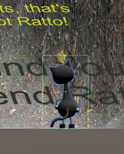 2D view. Editing collider on Catto