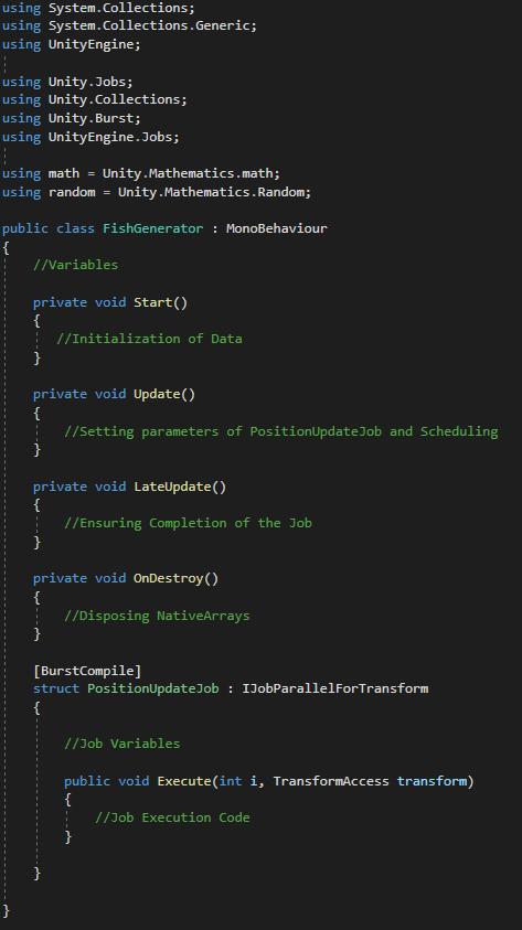 Fish Generator Code Structure