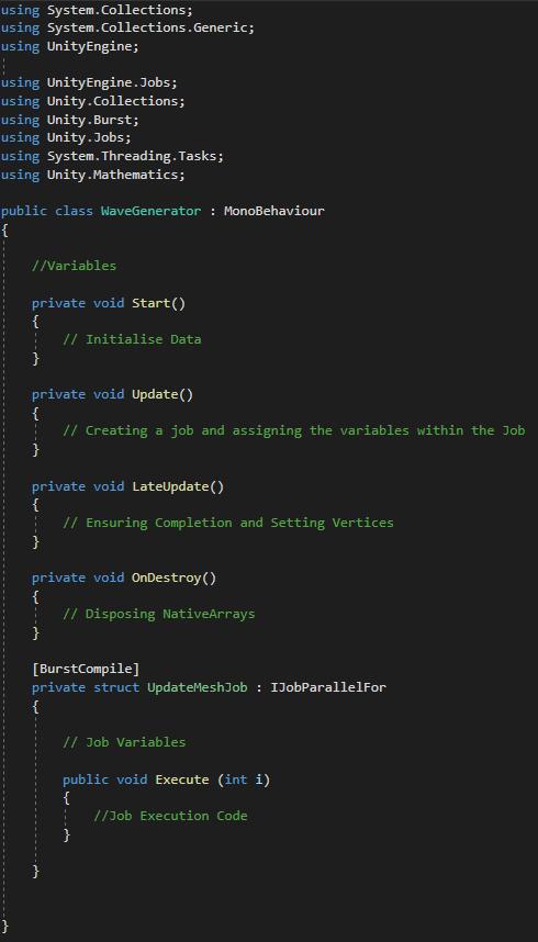 Wave Generator Code Structure
