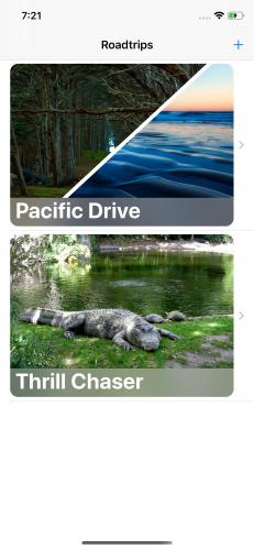 VIPER app main screen