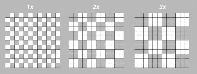 pixel comparisons
