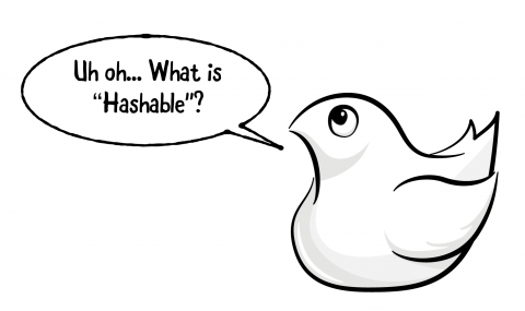"""Swift bird saying """"Uh oh... What is Hashable?"""""""