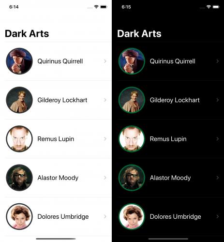 Dark Arts - fixed border