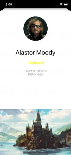 Dark Arts, teacher detail: Alastor Moody