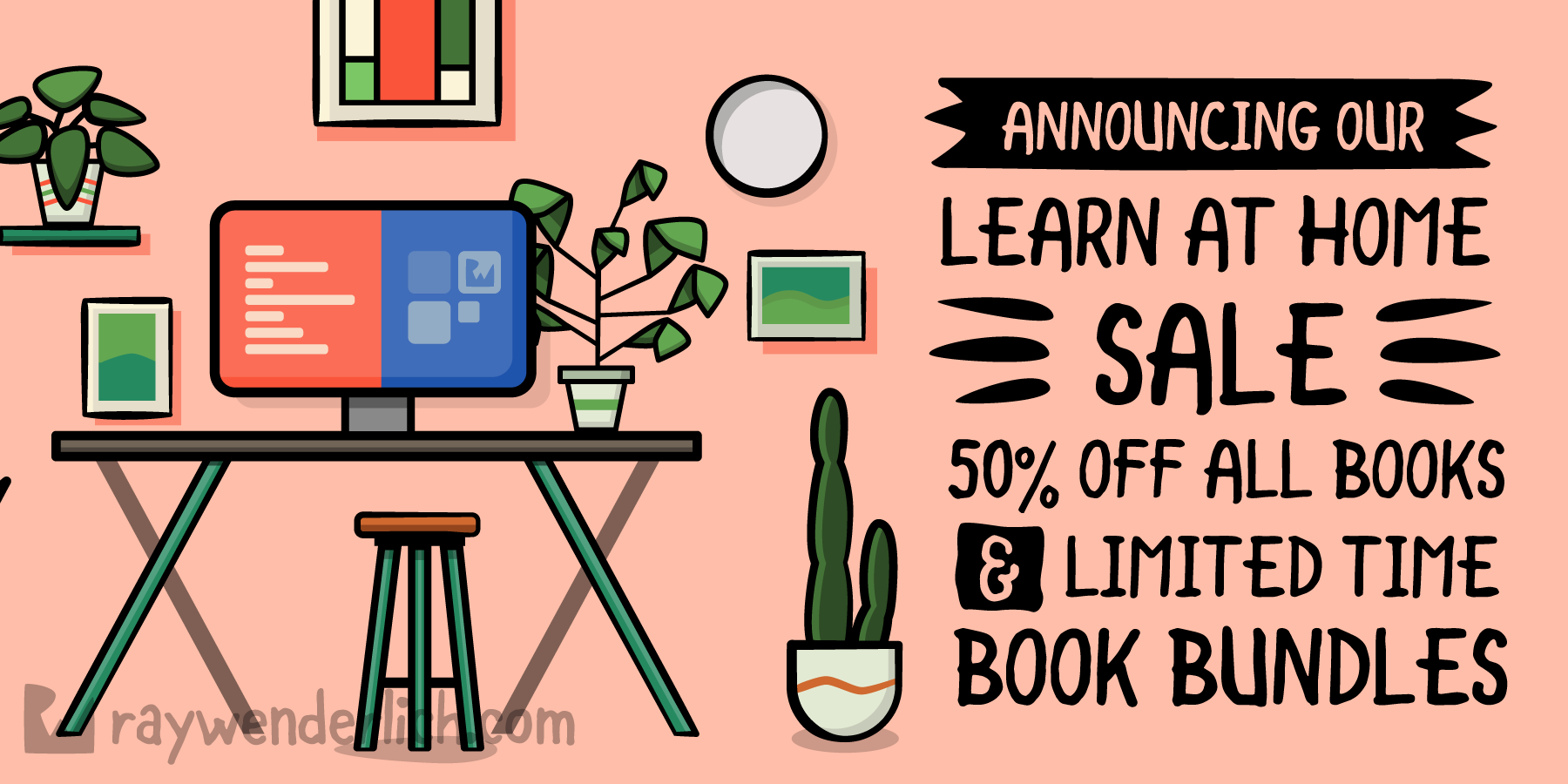 Announcing Our Learn At Home Sale! [FREE]