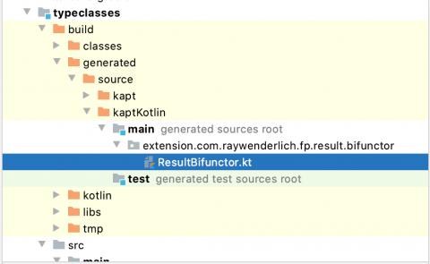 Generated code for the Bifunctor typeclass