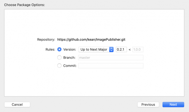 Adding ImagePublisher extension for combine