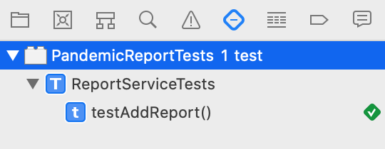 First Test Passed