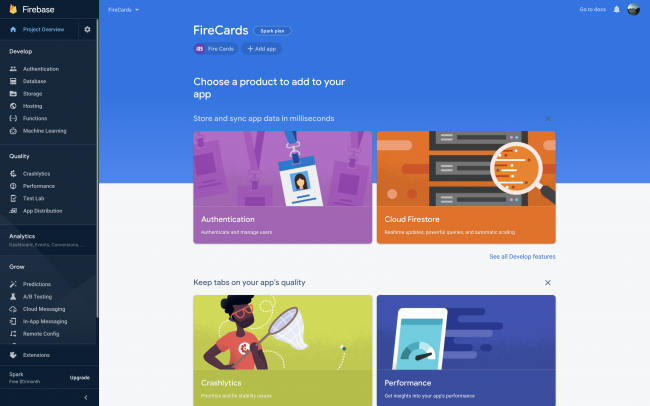 Firebase - Project Overview