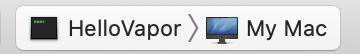 Xcode scheme