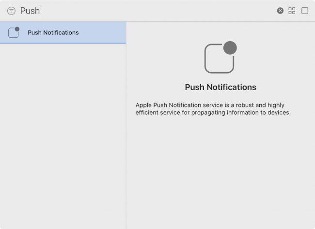 Adding push notifications to your PlaceTag Xcode project setup
