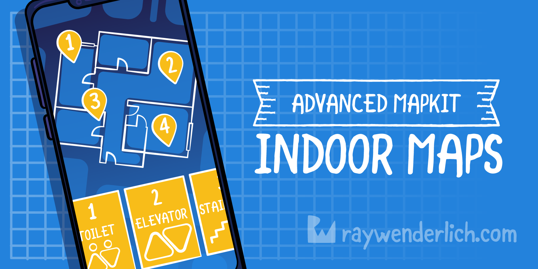 Indoor Maps on iOS: Advanced MapKit [FREE]