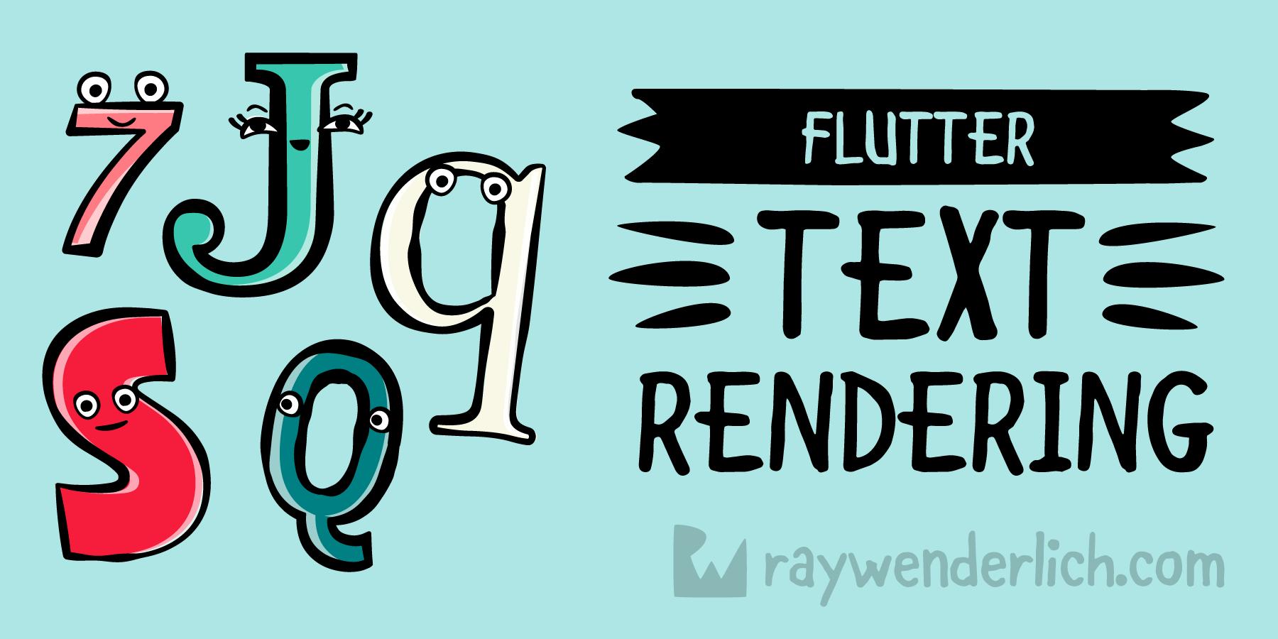 Flutter Text Rendering | raywenderlich com