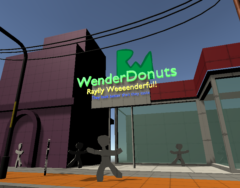 A screenshot of WenderDonuts shop