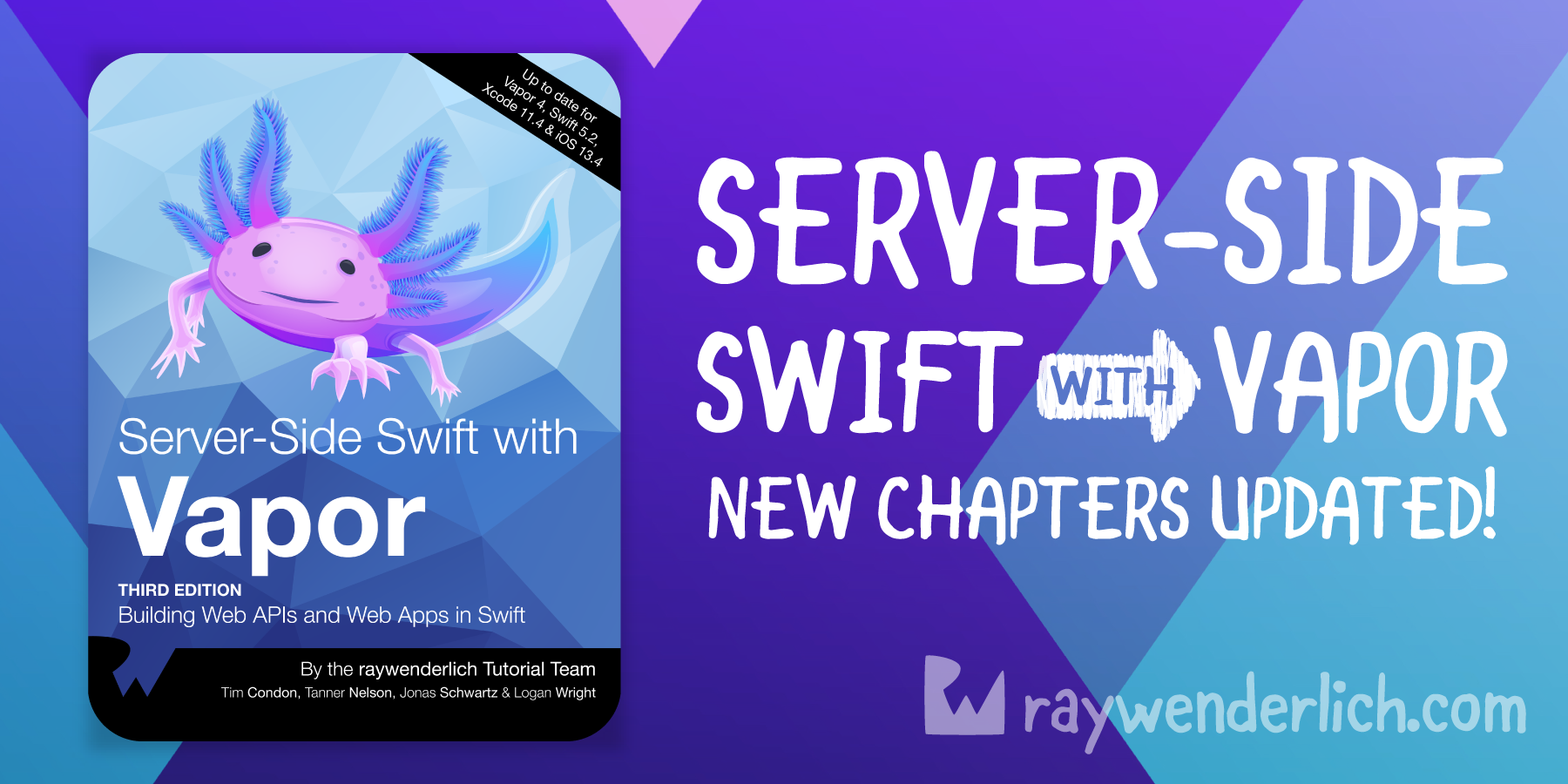 Server-Side Swift with Vapor: Chapter Updates Now Available! [FREE]