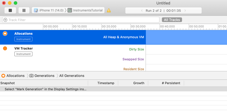 Allocations tutorial instruments xcode How to