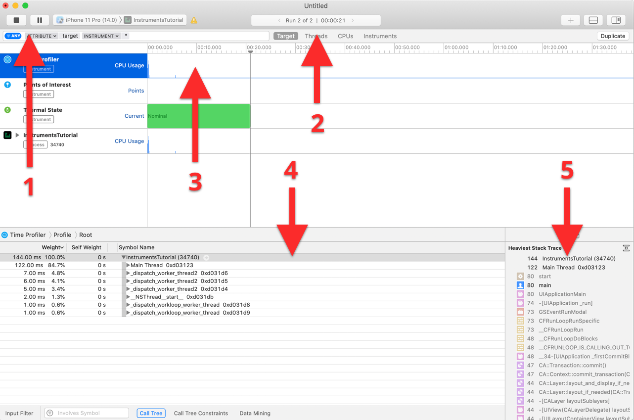 Allocations tutorial instruments xcode Measuring Your