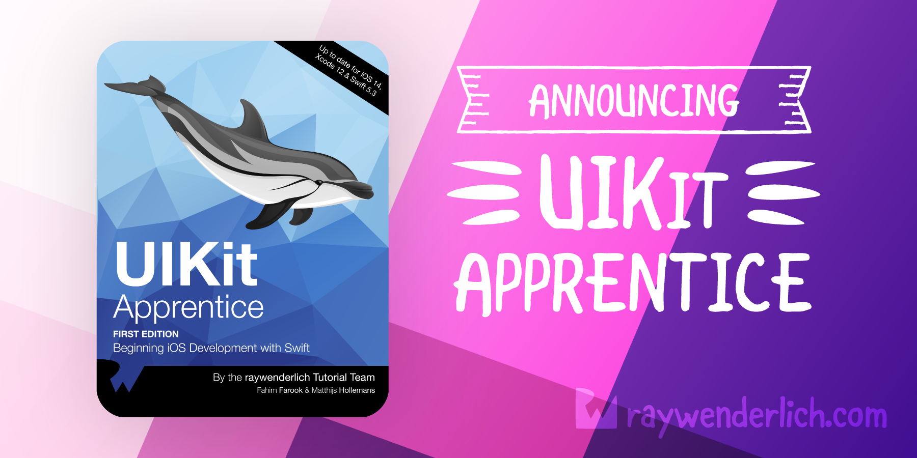 Announcing UIKit Apprentice (Formerly iOS Apprentice)! [FREE]