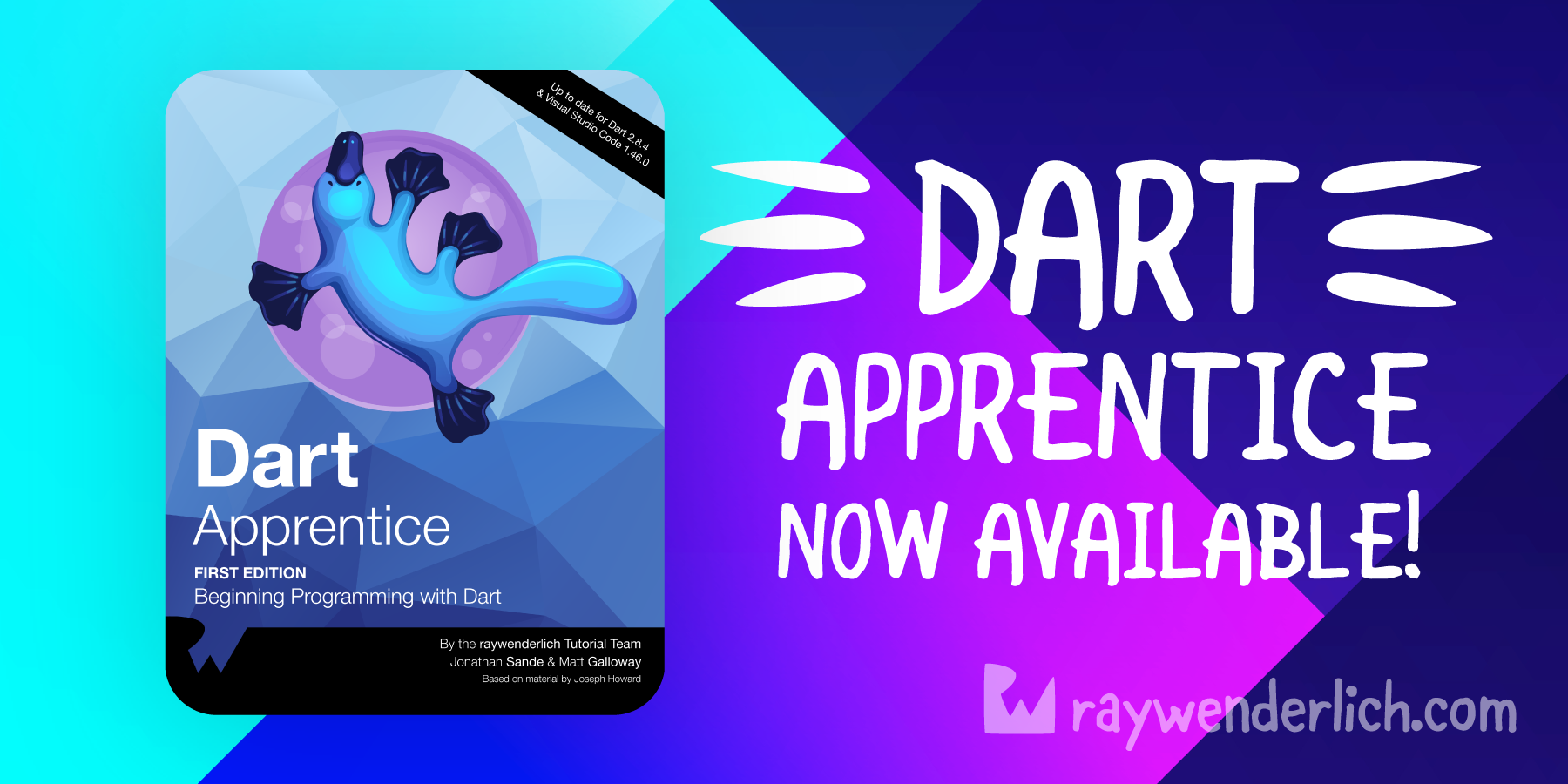 Announcing our Newest Book: Dart Apprentice! [FREE]