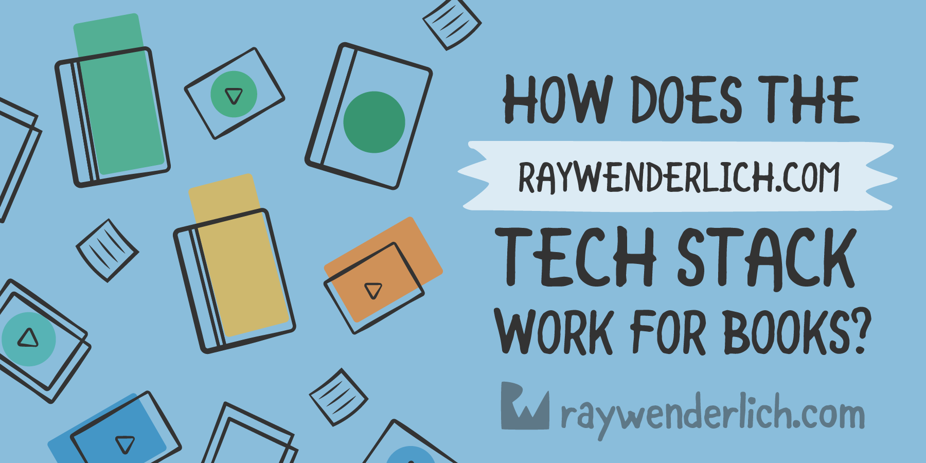 How Does the raywenderlich.com Tech Stack Work for Books? [FREE]