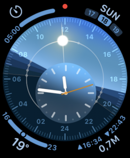 sample watch face