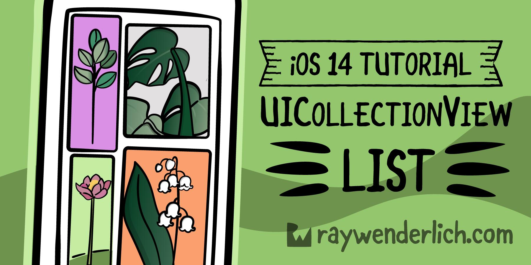 iOS 14 Tutorial: UICollectionView List [FREE]