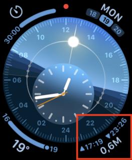 graphic corner complication