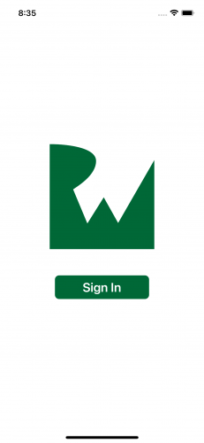 Sign-in page