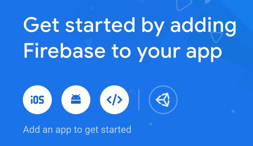 Firebase project add app
