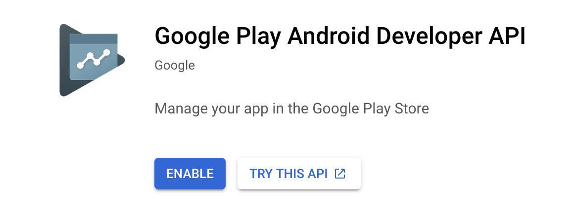 Google Play Android Developer API