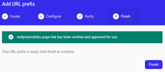 Subdomain setup and verification complete