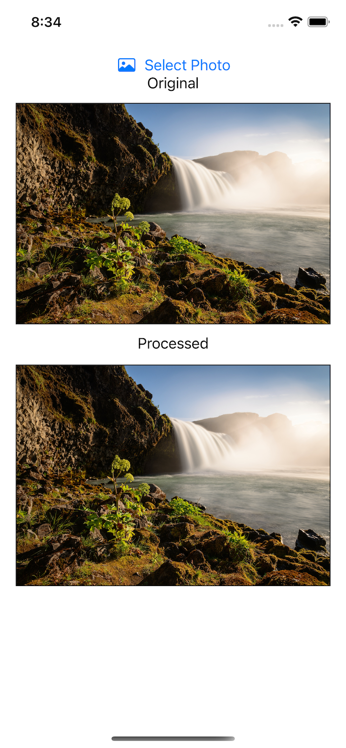 Waterfall converted from image to buffer and vice versa