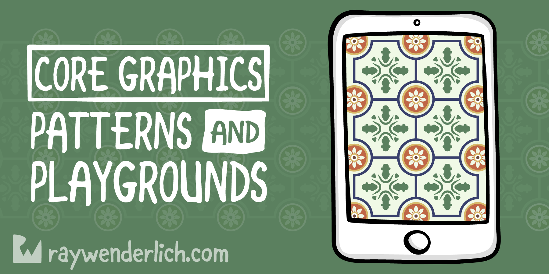 Core Graphics Tutorial: Patterns and Playgrounds [FREE]