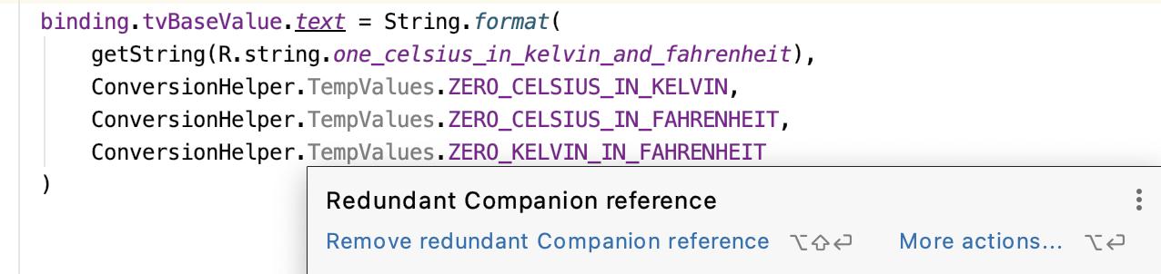 The error of redundant references.
