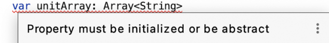 The error to define a default value for variable of a primitive data type.