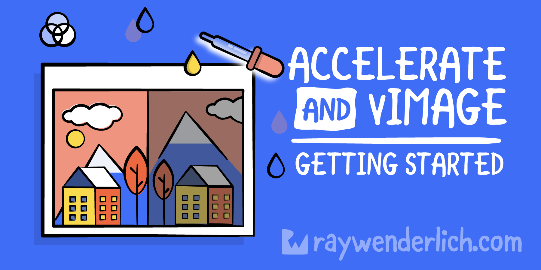 Swift Accelerate and vImage: Getting Started [FREE]