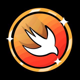 Swift mascot badge