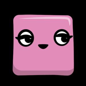Pretty pink thumbnail artwork