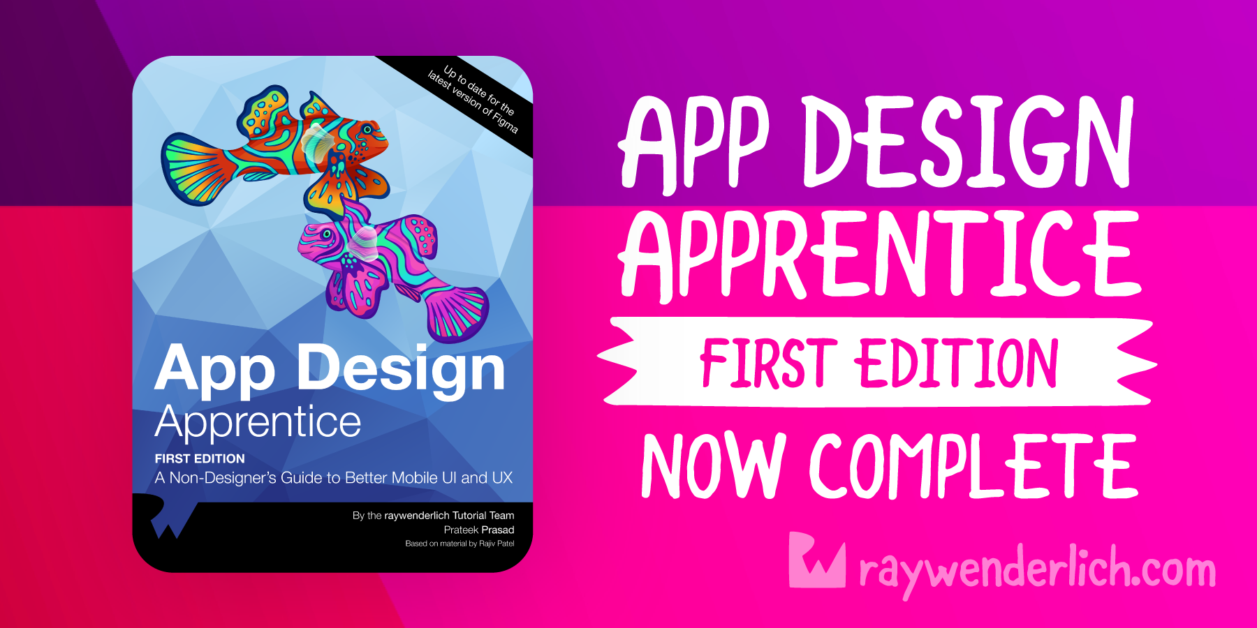 Announcing App Design Apprentice, First Edition! [FREE]