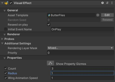 Visual Effect Component