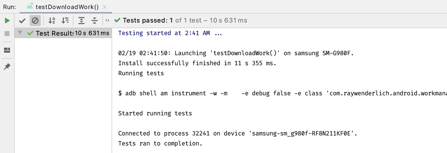 Image Download Worker Test