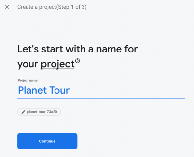 Name your project