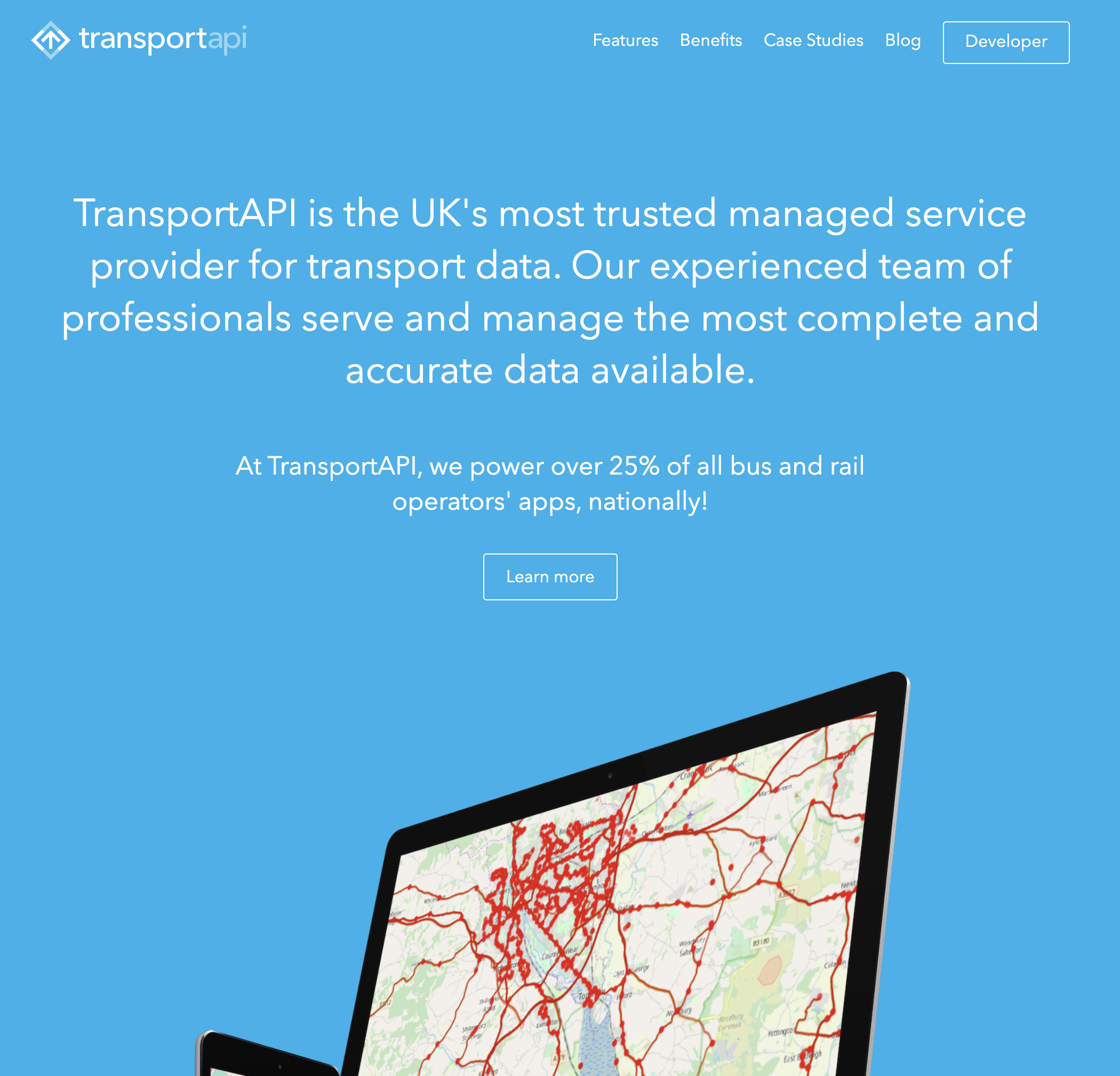 The TransportAPI Website