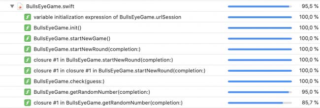 iOS Unit Testing: Code Coverage Report Details