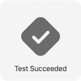 iOS Unit Testing: Test Succeeded