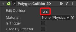 Edit Collider Button