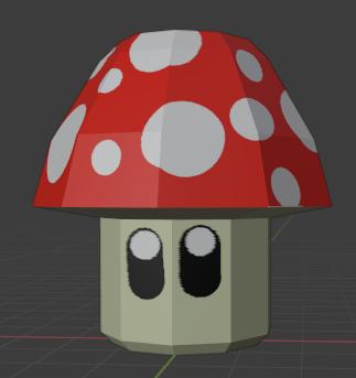 Mushroom final result